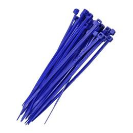 Abraçadeira Nylon 15 cm 3.7 Azul 100 Pc [ F7015UVAZ100 ] - Frontec