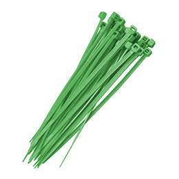 Abraçadeira Nylon 15 cm 3.7 Verde 100 Pc [ F7015UVVD100 ] - Frontec