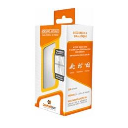 Adesivo Jateado para Vidros 10CM x 2M [ 00044 ] - Comfort Door