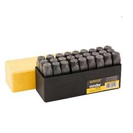Alfabeto Bater de Aço Jg 4 mm [ 3607040000 ] - Vonder (N)