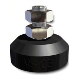 Amortecedor Vs II         Paraf. 5/16    20Kg [ VS II 5/16 ] - Vibra-Stop