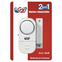 Anunciador Presença com Alarme para Portas e Janelas [ ANA 10111 ] - G20