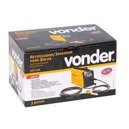 Aparelho Solda Inversor Eletrodo 130 Monof. RIV 135 Vonder