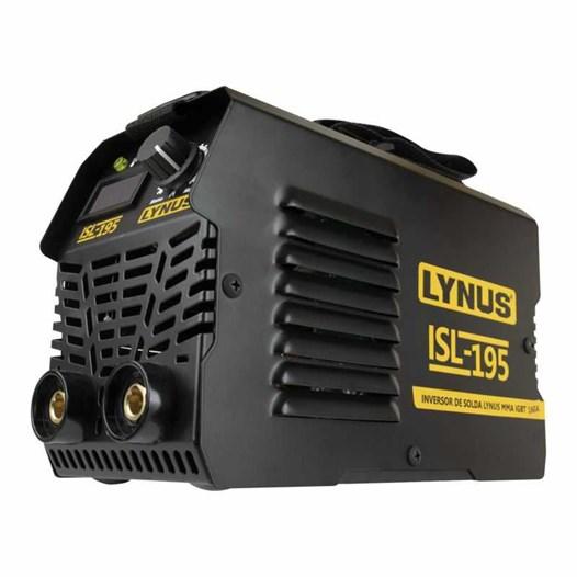 Aparelho Solda Inversor Eletrodo 160 Mono 220v [ ISL-195 ] - Lynus