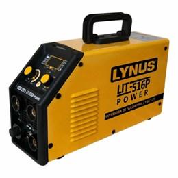 Aparelho Solda Inversor TIG/Eletrodo/Corte Plasma Monof.[ LIP-516P ] 220v - Lynus