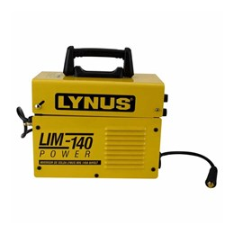 Aparelho Solda Inversora Mig 140A Bivolt[ LIM-140 ] 127v / 220V Lynus