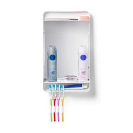 Armário para Banheiro Plástico Branco 38x22x8cm [ PR6100-1] - Primafer