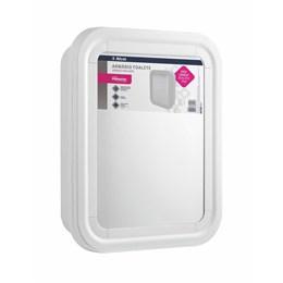 Armário para Banheiro Plástico Branco [ 5050-2 ] - Primafer
