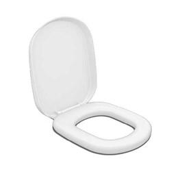 Assento Sanitário Branco Almofadado Sabatini [ 00686 ] - Durin