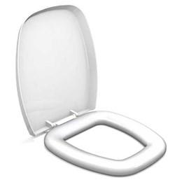 Assento Sanitário Branco Almofadado Thema [ 00671 ] - Durin
