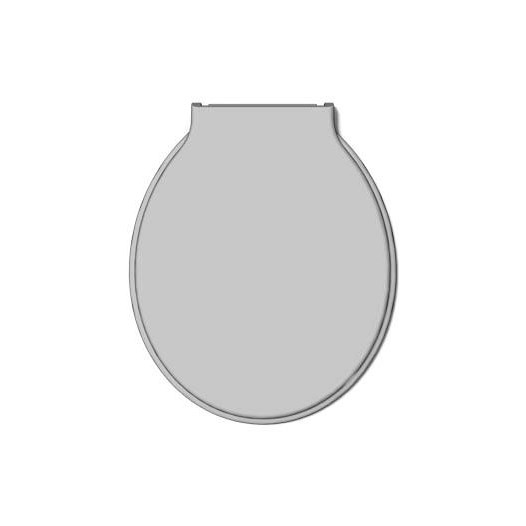 Assento Sanitário Cinza Simples [ 00663 ] - Durin