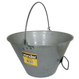 Balde Concreto Metal    Envernizado   10 Lt [ 3315010000 ] - Vonder