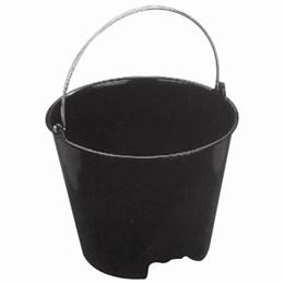 Balde Concreto Plástico Preto 12 Lt (FL) [ 12 L ] - Metasul