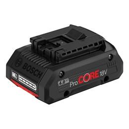 Bateria 18.0V LI 4.0AH Pro Core [ 1600A016GB000 ] - Bosch