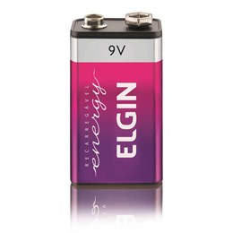 Bateria 9 Volts Recarregável [ 000000082215 ] - Elgin