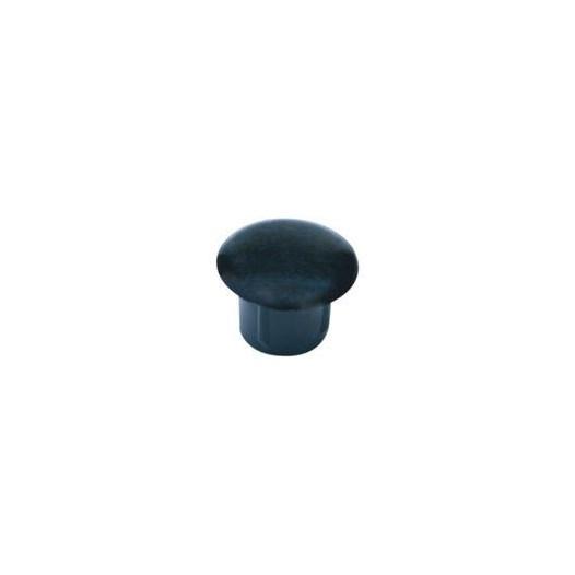 Botão Tapa Furo 08 Plast Preto 100 Pc [ 13059/08 PR ] - Star Plast