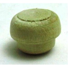Botão Tapa Furo 10 Madeira Marfim 100 Pc [ 00062 MARFIM ] - Simoes