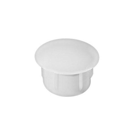 Botão Tapa Furo 12 Plast Branco 100 Pc [ 13057/12 BR ] - Star Plast