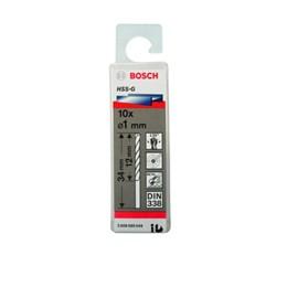 Broca de Aço Rápido 1.0MM Estojo com 10 Peças [ 2608595049 ] - Bosch