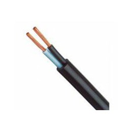 Cabo Pp 2 X  1.50 mm   Preto   (Metro) [ 004.007 ] - Sil