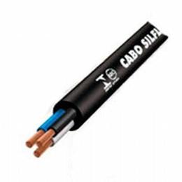 Cabo Pp 3 X  2.50 mm   Preto  1Kv (Metro) [ 4033 ] - Sil