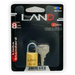 Cadeado Haste Curta 20 mm Latão [ 2540 ] - Land