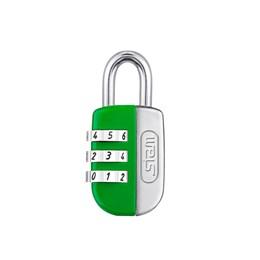 Cadeado Haste Curta 20mm Verde Segredo [ 91515 ] - Stam
