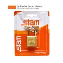 Cadeado Haste Curta      25 mm [ 90101 ] - Stam