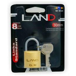 Cadeado Haste Curta 30 mm Latão [ 2542 ] - Land
