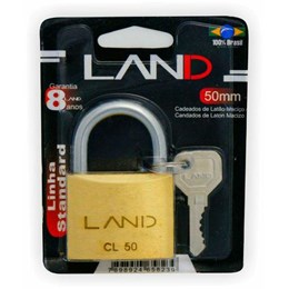 Cadeado Haste Curta 50 mm Latão [ 2545 ] - Land