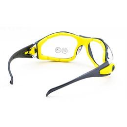 Caixa Óculos Incolor Pacaya C/Armação Remov. 5UN Delta Plus