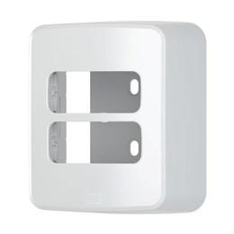Caixa Sobrepor com Placa 2 Módulos Branco Composé [ 13671154 ] - Weg