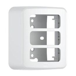 Caixa Sobrepor com Placa 3 Módulos Branco Composé [ 13671155 ] - Weg