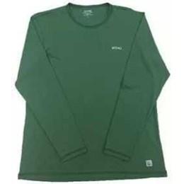 Camiseta com Proteção UV e Repelente Tamanho GG Verde [ 34 ] - Vitho Protection