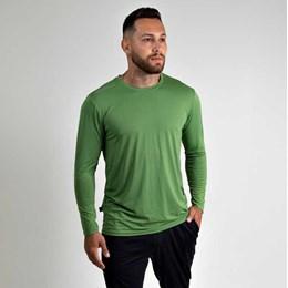 Camiseta com Proteção UV e Repelente Tamanho M Verde [ 34 ] - Vitho Protection
