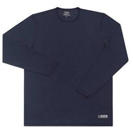 Camiseta com Proteção UV Tamanho M Azul Marinho [ 32 ] - Vitho Protection