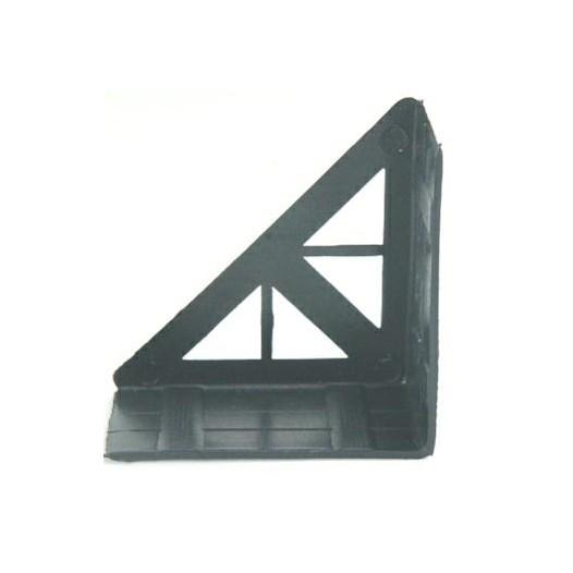 Cantoneira Proteção p/ Móveis Preta [ P002/2 ] - Sas Plastic
