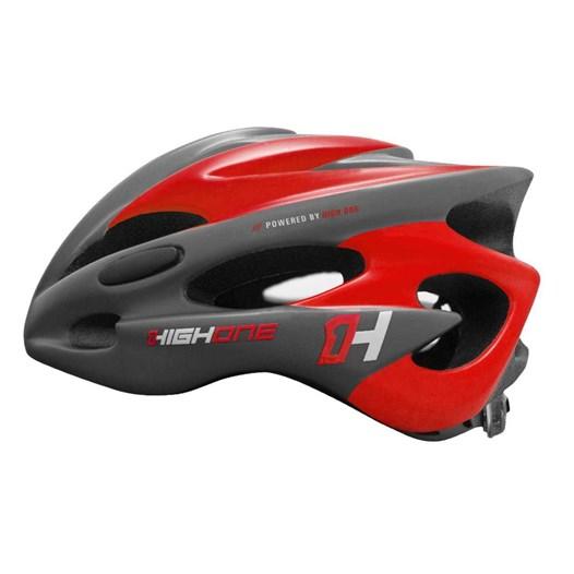 Capacete Bike MTB New Tamanho M com Luz Cinza/Vermelho [ HOCAP0190 ] High One