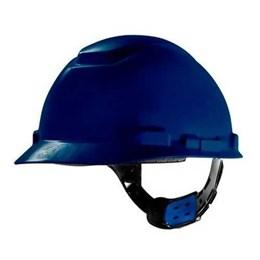 Capacete de Segurança com Carneira Ajuste Facil e Jugular Azul [ H700 ] - 3M
