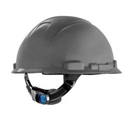 Capacete de Segurança com Carneira Ajuste Facil e Jugular [ HB004570923] Cinza - 3M