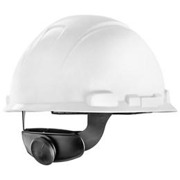 Capacete de Segurança com Carneira Catraca e Jugular  Branco [ H700 ] - 3M