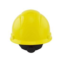 Capacete de Segurança com Carneira Catraca e Jugular [ HB004571699 ] Amarelo - 3M
