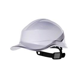 Capacete de Segurança com Carneira Simples Branco [ DIAM5BRBCFL ] - Delta plus