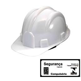 Capacete de Segurança com Carneira Simples Branco [ WPS0872 ] - Delta Plus