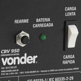 Carregador Automotivo 25A  12V Rápido/Lento Cbv 950 Vonder