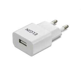 Carregador Parede USB Universal Branco [ 46RCT1USB000 ] - Elgin