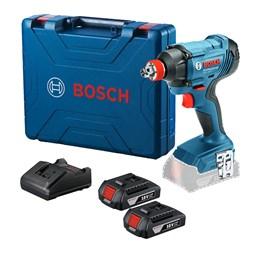 Chave de Impacto 18V LI 2 Baterias C/Maleta GDX 180-LI Bosch