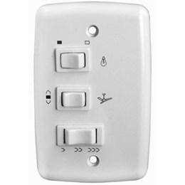 Chave para Ventilador Teto com Capacitor Branco Rima [ 2675/403 ] - Farol