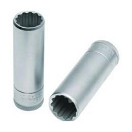 Chave Soquete Estriada 15 mm     Encaixe 1/2 Longo [ 015 707 ] - Gedore