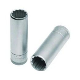 Chave Soquete Estriada 19 mm     Encaixe 1/2 Longo [ 015 704 ] - Gedore